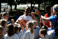 Tamika Catchings at Camp Crosley