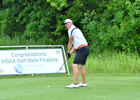 Jonny Hollar at the 2015 IHSAA Boys Golf State Finals